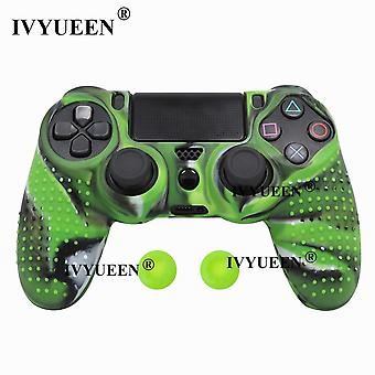 25 Colors Anti-slip Silicone Cover Skin Case For Sony Playstation Dualshock 4