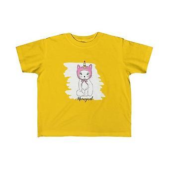 Meowgical Cat Unicorn Kind Tee