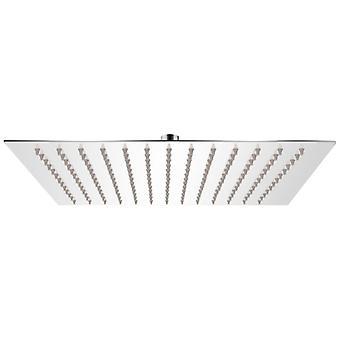 vidaXL Rain shower head stainless steel 25x25 cm Square