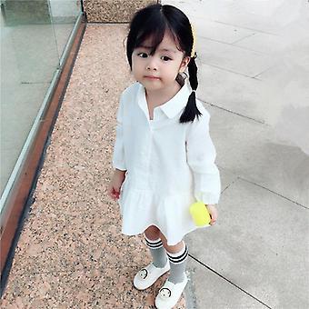 Children's Clothing Little Long-sleeved Skirt