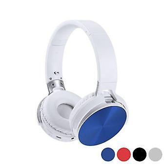 Folding diadem headphones with Bluetooth Blue