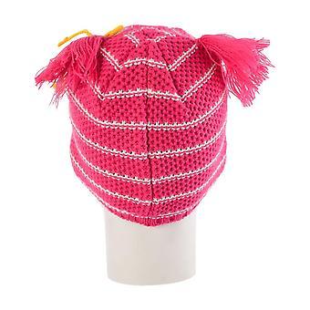 Ousam 2B crianças meninas preceder inverno Beanie chapéu