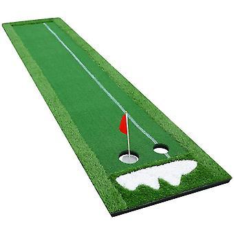 FengChun Puttingmatte Golf Putting Matte Offizielle Tragbare bungsmatte Golfbungsgerte Zuhause