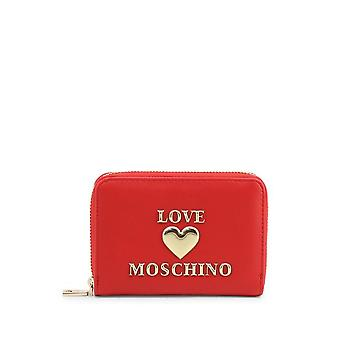 Love Moschino - Accessories - Purses - JC5610PP1BLE-0500 - Ladies - red,gold