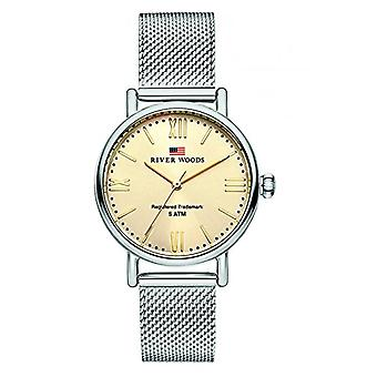 River Woods Analog Quartz Watch Woman with Stainless Steel Strap RW340035
