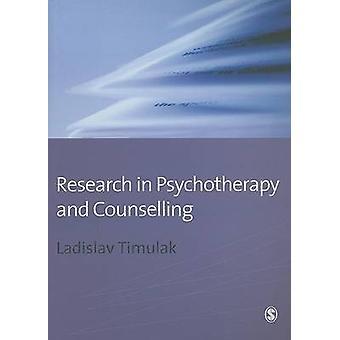 Forskning inom psykoterapi och rådgivning av Dr. Laco Timulak