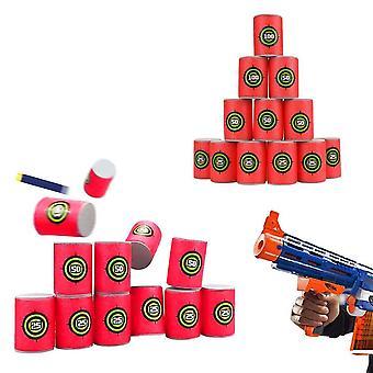 Mousse Boisson Bouteille Bullet Formation Cibles de jeu Shot Dart Set Pour N-strike fixe