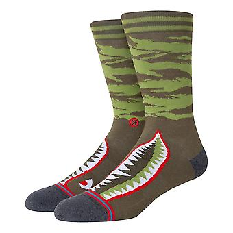 Stance Warbird Socks - Olive