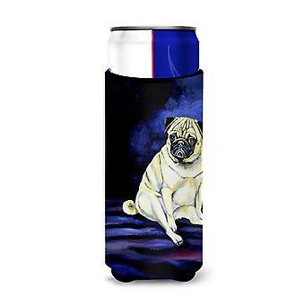 Fawn Pug Penny per i tuoi pensieri Isolatori ultra bevande per lattine sottili 7026Muk