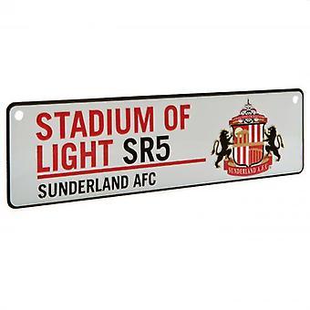 Sunderland AFC Stadium Window Sign