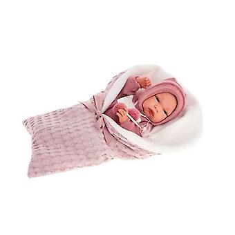 Wiedergeborene Puppe Antonio Juan Toneta Flieder (33 cm)
