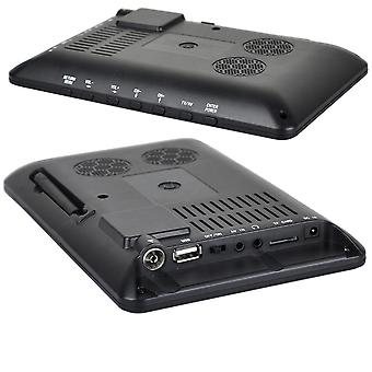 Portable Tv, Hd Digital, Color Television Player For Home, Car