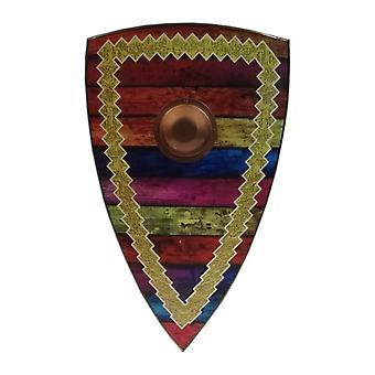Træ middelalderlige hippie stil Viking Shield SWE147
