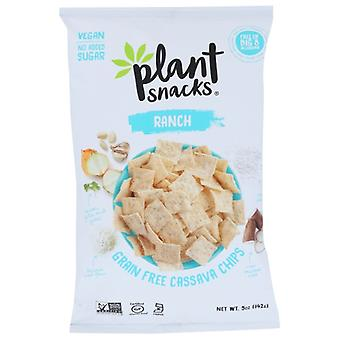 Plant Snacks Brand Chip Cassava Root Ranch, Case of 12 X 5 Oz