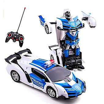 Robot Car Transforming Toys With Remote
