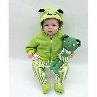 Real touch 55cm silicone réaliste bonecas bébé nouveau-né réaliste sucette magnétique bebes renaissant poupées bébés jouet