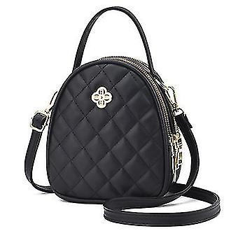 Nuova borsa 2021 Nuova moda One-shoulder Messenger Small Bag (Nero)