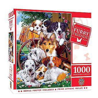 MP Furry Friends Puzzle (1000 kpl)