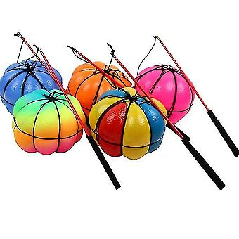 Lantern Juggling Balls Set For Iniciantes Halloween Temático Juggle Ball Ki (Threecolorball)
