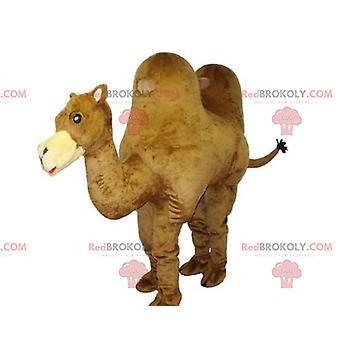 Mascot giant camel REDBROKOLY.COM very beautiful and realistic