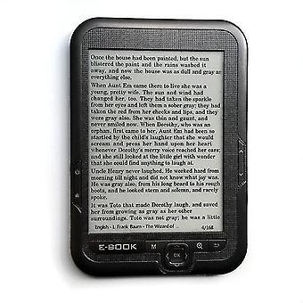 6 tommer e blæk digital e-bog-læser indbygget 8GB hukommelse og støtte SD-kort 800 * 600 blæk skærmlæser