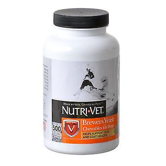Nutri-Vet Brewers Yeast Flavored with Garlic - 500 Count