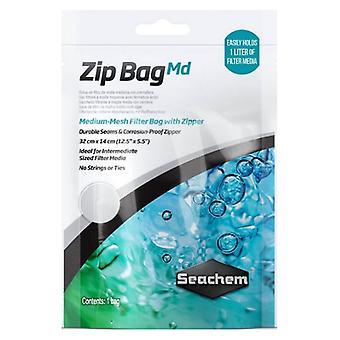 """Seachem Medium Mesh Zip Bag - 1 szám (12,5""""L x 5,5""""W)"""