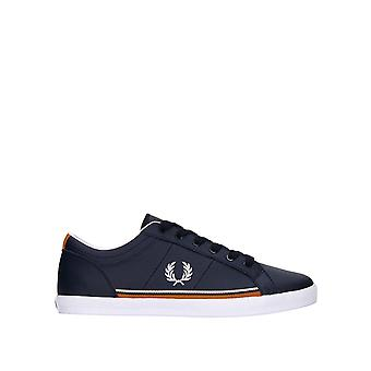 Fred Perry Men's Baseline Perf Leather Sneakers