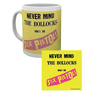 The Sex Pistols Mug and Coaster Never Mind the … Band Logo  Gift Set Official
