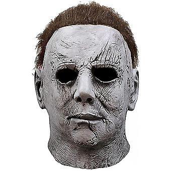 Michael Myers Halloween Masker Kostume Cosplay Latex Rekvisitter Horror Mask