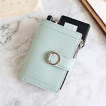 Frauen Geldbörsen Kleine Mode Marke Leder Geldbörse Frauen Damen Kartentasche für Frauen 2021 Clutch Frauen Weibliche Geldbörse Geld Clip Brieftasche