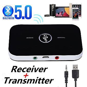 Bluetooth 5.0 Audio Transmetteur Récepteur Rca 3.5mm Aux Jack Usb Dongle Musique Adaptateur sans fil