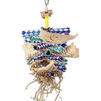 Papierová drvia vtáčia toy