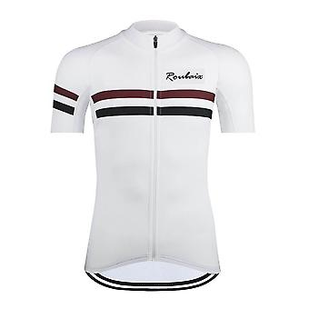 Summer Short Sleeve Breathable Cycling Jersey Set Ropa Maillot Men Anti-uv Quick Drying Mtb Bicycle Cycling Clothes