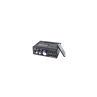 400w 2ch Bluetooth Hjem Hifi Stereo Strømforsterker Støtte Usb Minnekort Fm Radio 220v