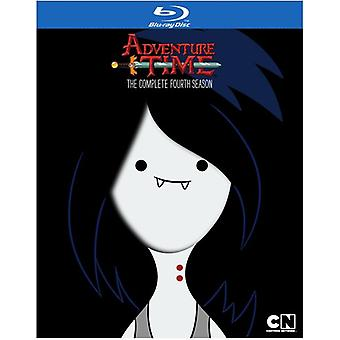 Adventure Time: The Complete Fourth Season [BLU-RAY] USA import