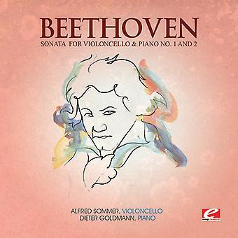 L.V. Beethoven - Beethoven: Sonata for Violoncello & Piano No. 1 & 2 [CD] USA import