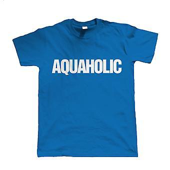 Aquaholic, Herren Wassersport T Shirt für Segeln Surfen Schwimmen