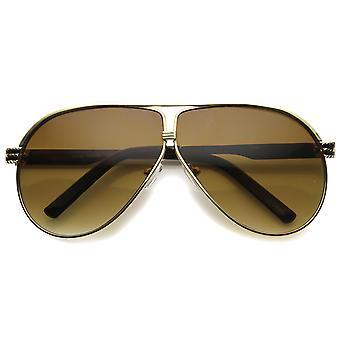 نظارات الطيار معدنية سيدات مع UV400 المحمية عدسة التدرج