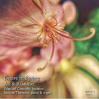 Finzi / Connolly, Edmund / Thevenot, Maxine - Desire in Spring: Air & Hammers [CD] USA import