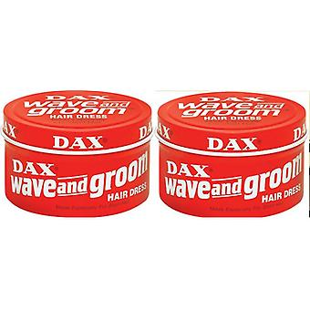 DAX Wave And Groom Hair Dress Red 99g (2-PACK)