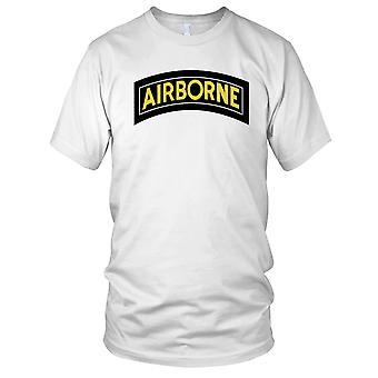 US Army Airborne Flash Clean Effect Mens T Shirt