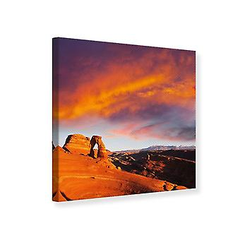 Canvas tulosta Sunset Canon