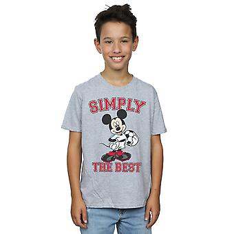 Disney Boys Mickey Mouse Simply The Best T-Shirt
