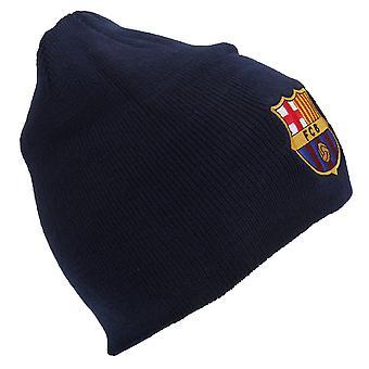 نادي برشلونة الرسمية الأساسية الشتوية لكرة القدم كريست قبعة قبعة صغيرة