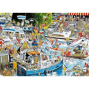Falcon Deluxe Cruise Chaos Jigsaw Puzzle (1000 Pieces)