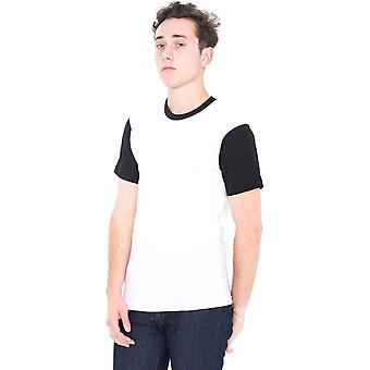 American Apparel Mens polyester/coton Short Sleeve Crew Neck T-Shirt