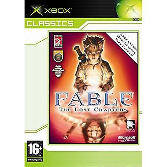 Fable de förlorade kapitlen (Xbox)-ny