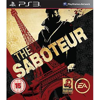The Saboteur (PS3) - New