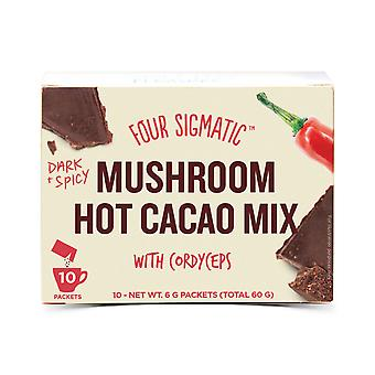 Four Sigmatic Mushroom Hot Cacao Cordyceps 10 sachets